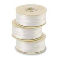 White Nymo Beading Thread, Size D 0.30mm...