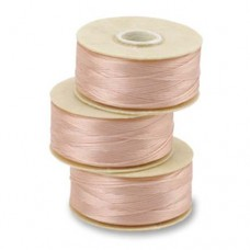 Dark Pink Nymo Beading Thread, Size D (0.30mm)
