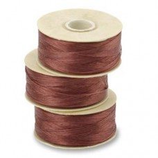 Burgundy Nymo Beading Thread, Size D (0.30mm)
