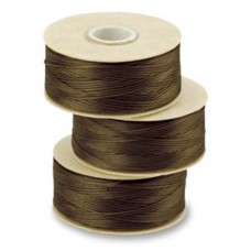 Brown Nymo Beading Thread, Size D (0.30mm)