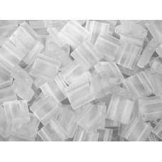 Crystal Transparent Matte Colour 0131F  Miyuki Tila Bead 50g bag