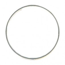 Flat Memory Wire, Ring, Silver Plated, 0.35oz