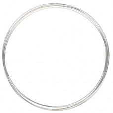 Flat Plated Memory Wire, Necklace, 0.35oz