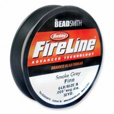 Fireline Thread, 6lb Smoke Grey 50yd 0.006
