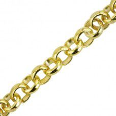 Beadalon Quick Links Large Rolo Gold Plated 340A-080 49.53cm long
