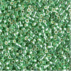 Duracaoat Galvanized Dk Mint Green, Size 10/0 Delica, Colour code 1844  - Approx...
