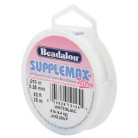 Clear Supplemax illusion beading cord