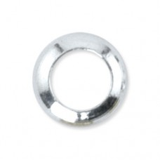 Beadalon Silver 3.4mm Solid Rings, Pack of 144