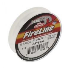 Fireline Thread, 4lb Crystal Clear 15yd 0.006