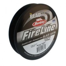 Fireline Thread, 8lb Black Satin 125yd 0.008