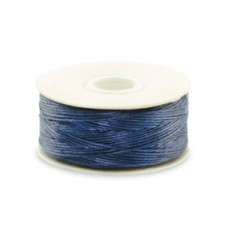Dark Blue Nymo Beading Thread, Size D (0.30mm)