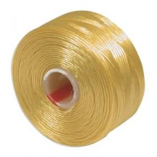 Golden Yellow S-Lon D Tex 45 beading cord