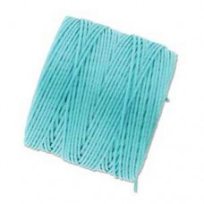 Aqua S-Lon 0.5mm Bead Cord on 77 yard Spool