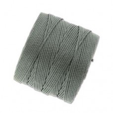 Gunmetal S-Lon 0.5mm Bead Cord on 77 yard Spool