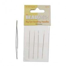 "Big Eye Needle,  2.125"" long, pack of 4"