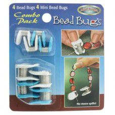 Bead Bug Combo Pack. Prevent your beads from falling off stringing cords whilst threading